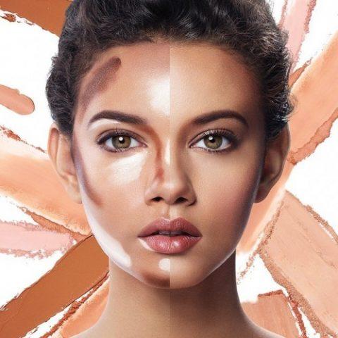 trang điểm tạo khối cho khuôn mặt