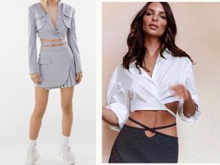 """Top 10 áo croptop buộc dây eo chuẩn bị """"đổ bộ"""" trong dịp hè 2021"""