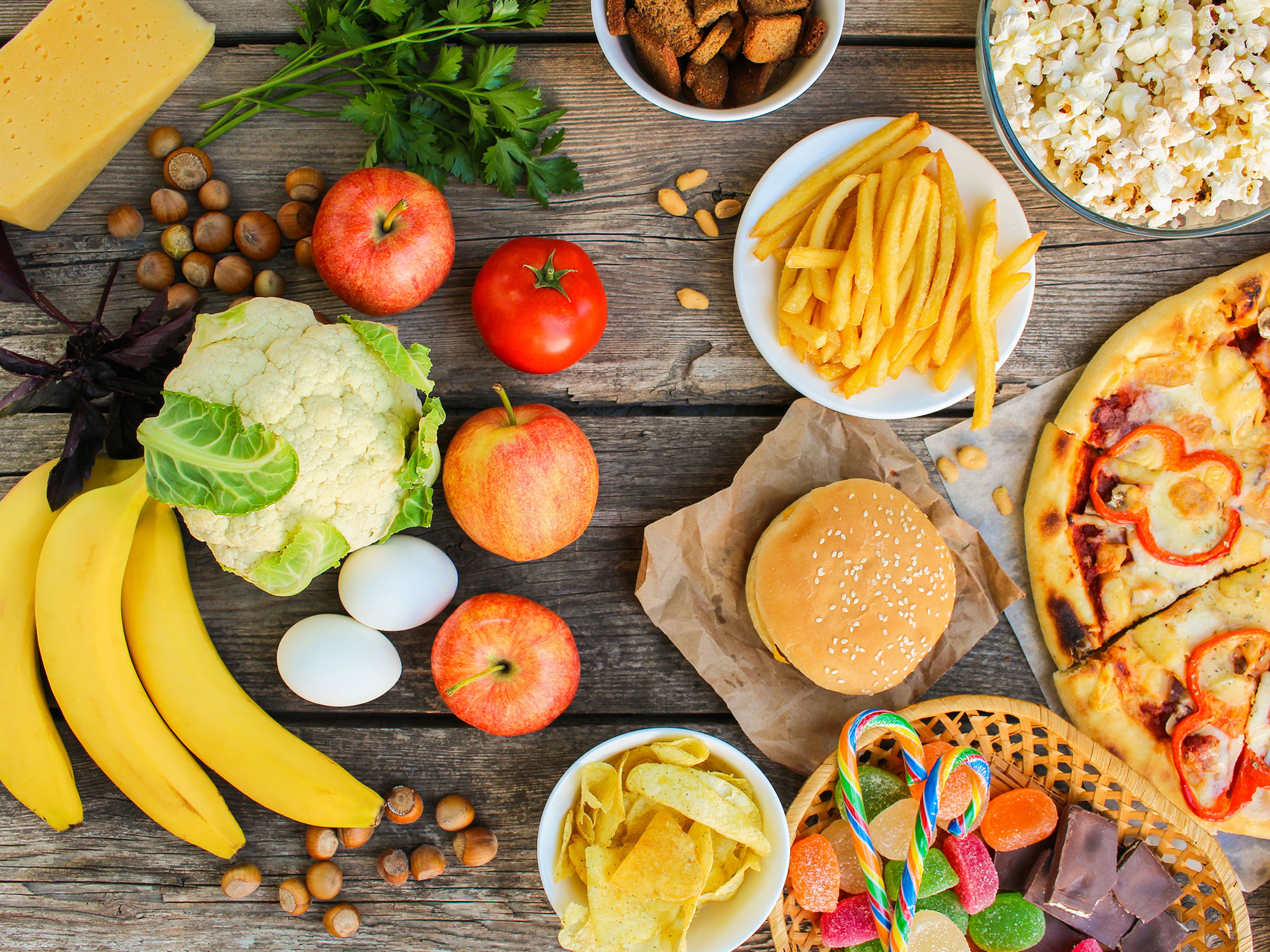 cách giảm cân tại nhà không dùng thuốc - Thay đổi thực đơn ăn uống để giảm cân