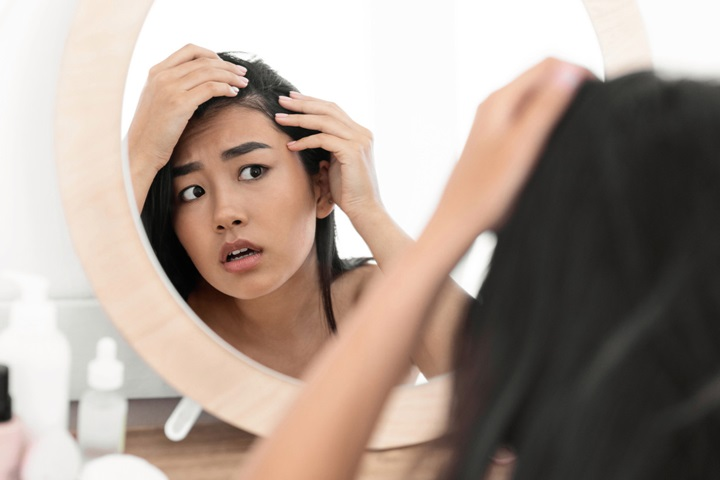 Xử lý tóc bết cấp tốc