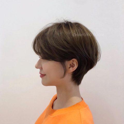Tóc tomboy Hàn Quốc