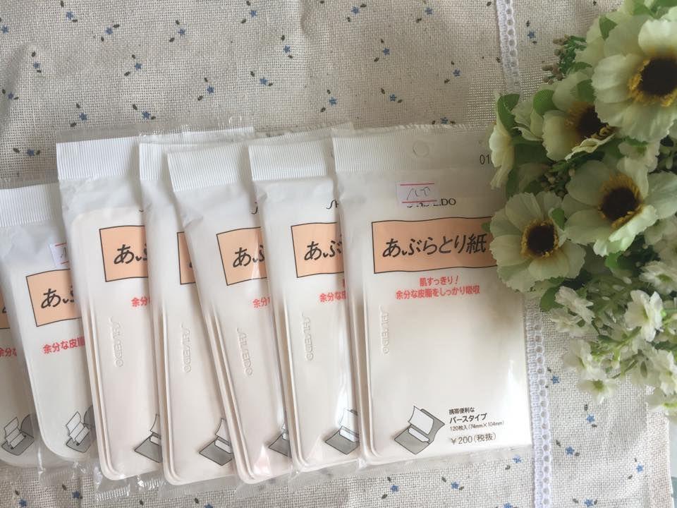 Giấy Thấm Dầu Shiseido