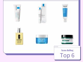 Top 6 kem dưỡng ẩm cho da dầu mụn: giảm kích ứng, giảm mụn cực hiệu quả