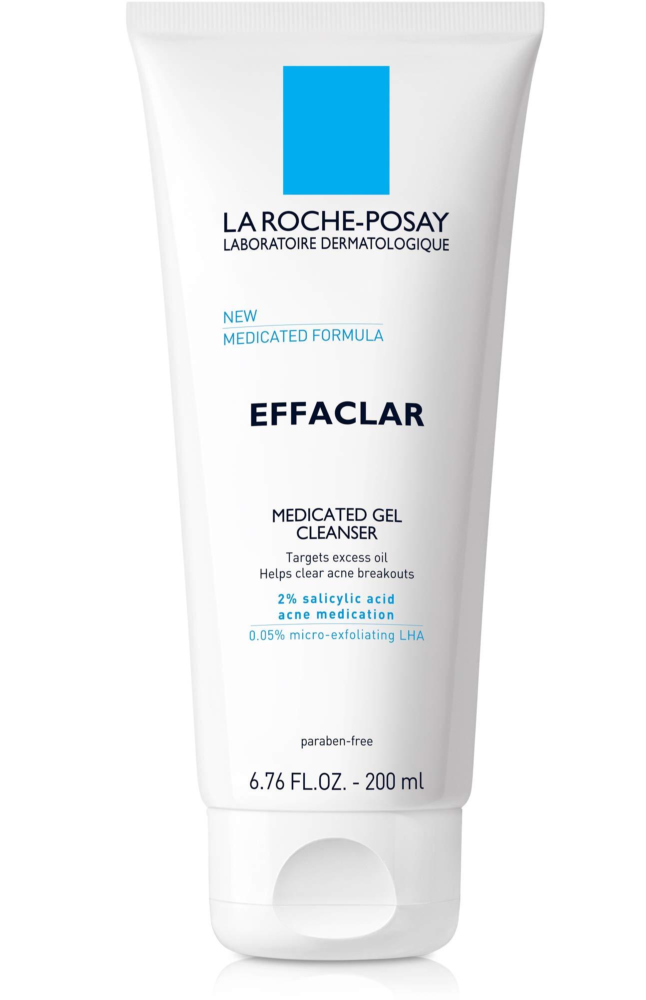 Sản phẩm sữa rửa mặt trị mụn tốt nhất hiện nay La Roche-Posay Effaclar Medicated Gel Cleanser
