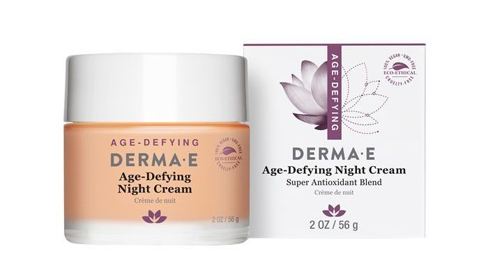 Derma E Age-Defying Night Creme With Astaxanthin and Pycnogenol