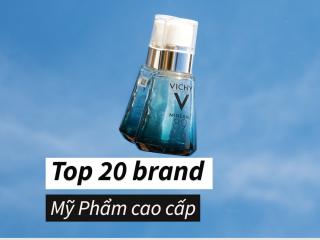 Top 20 thương hiệu mỹ phẩm cao cấp được đánh giá cao nhất 2021