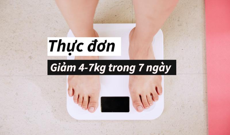 14 thực đơn giảm cân cho nữ eo thon da đẹp bất ngờ sau 1 tuần