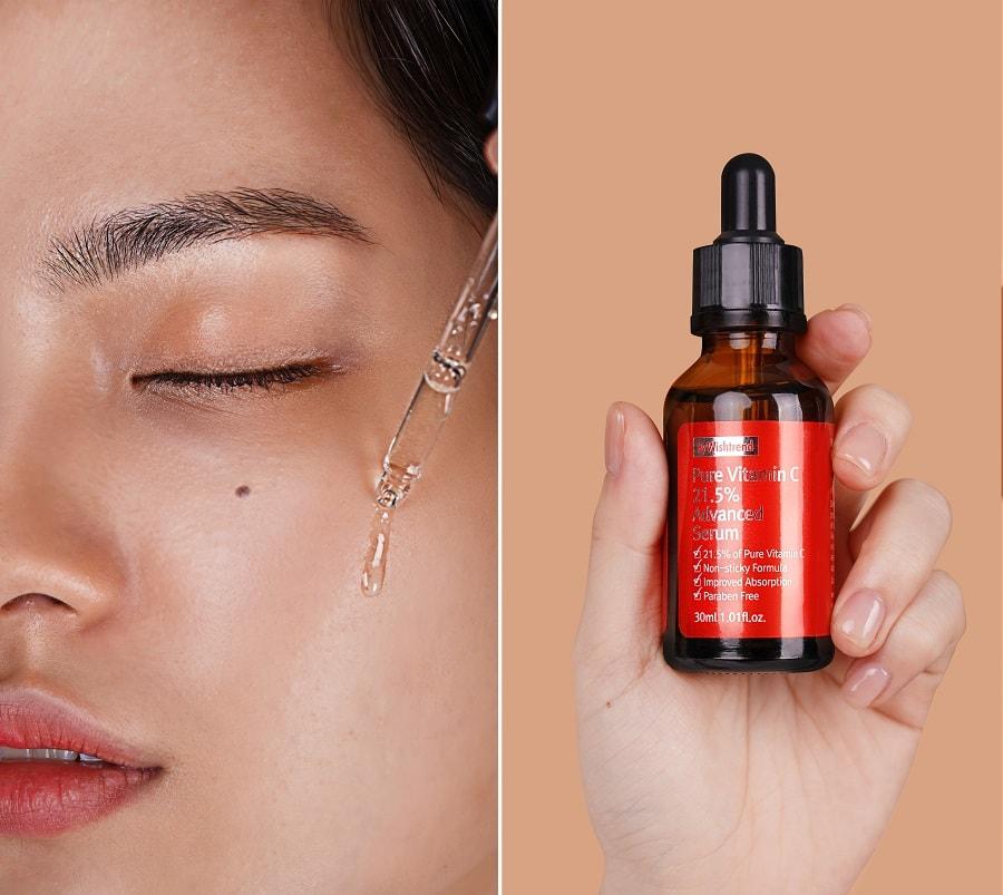Tinh chất Wishtrend Pure Vitamin C 21.5% Advanced Serum - serum vitamin c cho da nhạy cảm