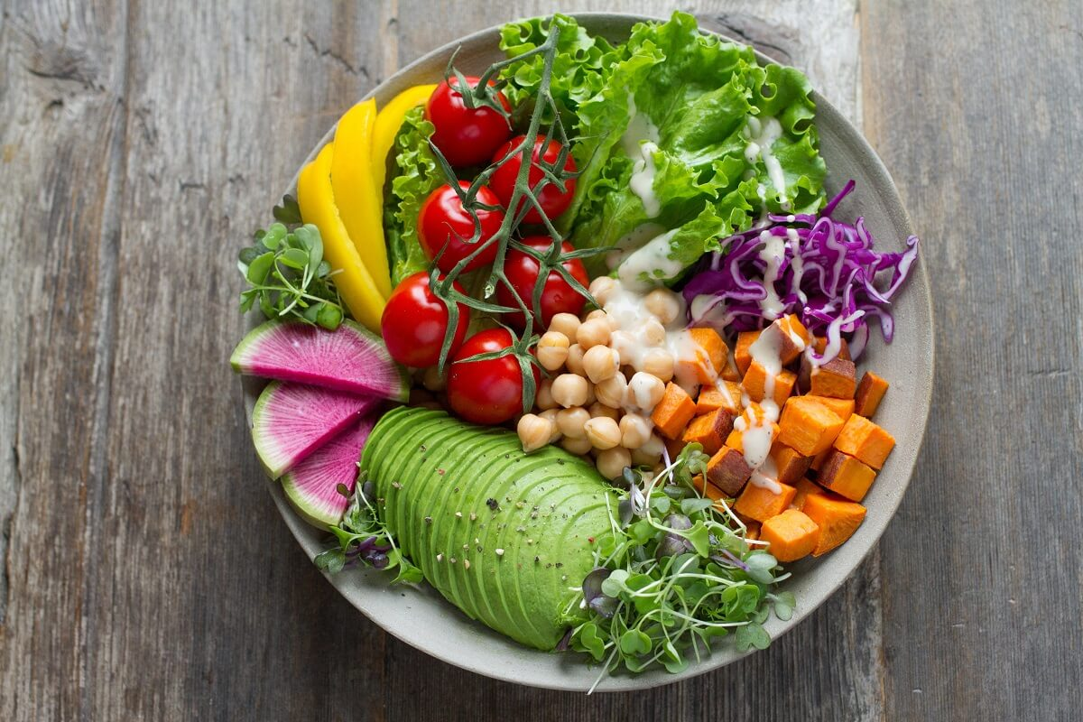 thực đơn ăn chay đủ chất