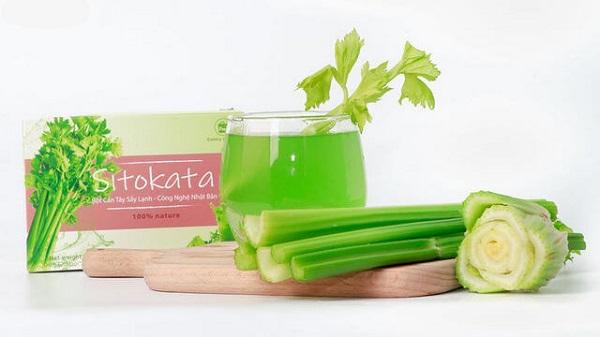 Bột cần tây giảm cân Sitokata của Nhật Bản