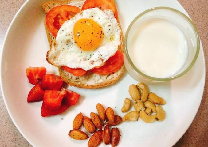 ăn gì để giảm cân vào bữa sáng
