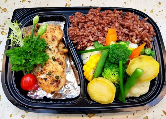 ăn gì để giảm cân vào bữa trưa