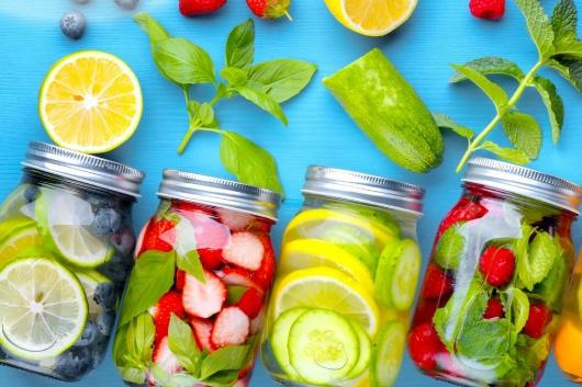 cách giảm cân nhanh tại nhà cho nữ bằng nước detox
