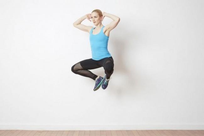 cách giảm cân nhanh tại nhà cho nữ - bài tập Froggy Jumps – Nhảy cóc