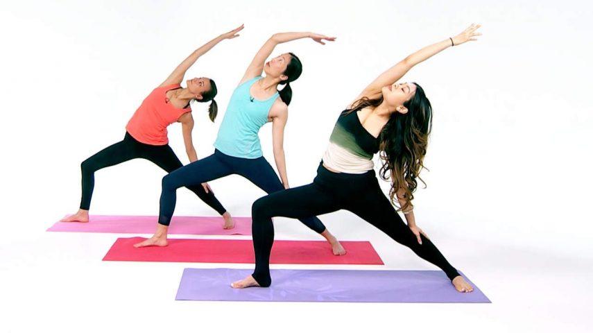 cách giảm cân nhanh tại nhà cho nữ Bài tập Yoga