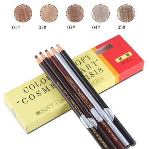Chì kẻ mày Coloured Soft Cosmetic Art Eyebrow Pencil