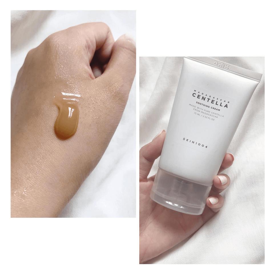 Kem dưỡng Skin1004 Madagascar Centella Soothing Cream 75ml có chứa cica