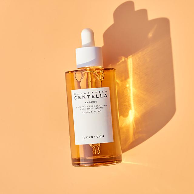 sản phẩm trị mụn tốt nhất hiện nay Tinh Chất Rau Má Skin1004 Madagascar Centella Asiatica 100 Ampoule