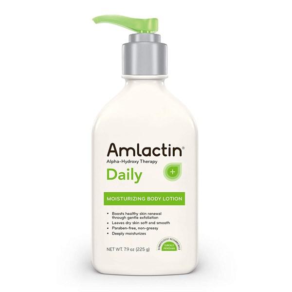 trị mụn ở tay bằng Amlactin's Daily Moisturizing Body Lotion