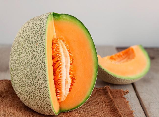 dưa lưới - các loại trái cây nên ăn vào bữa sáng