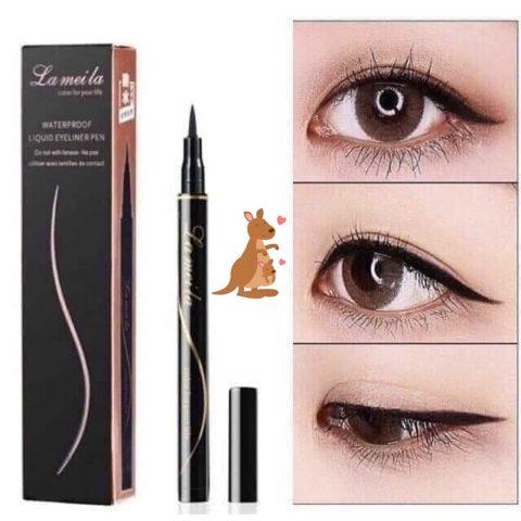 Eyeliner nội địa Trung giá rẻ - Lameila Waterproof Liquid