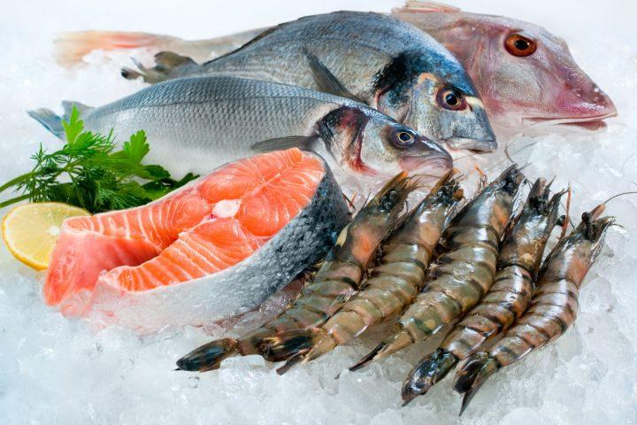 ăn gì để giảm cân - hải sản và cá giúp giảm cân tăng chiều cao