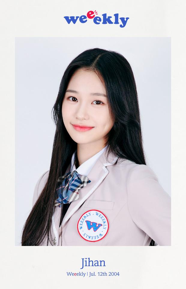idol nữ Jihan (Weeekly)