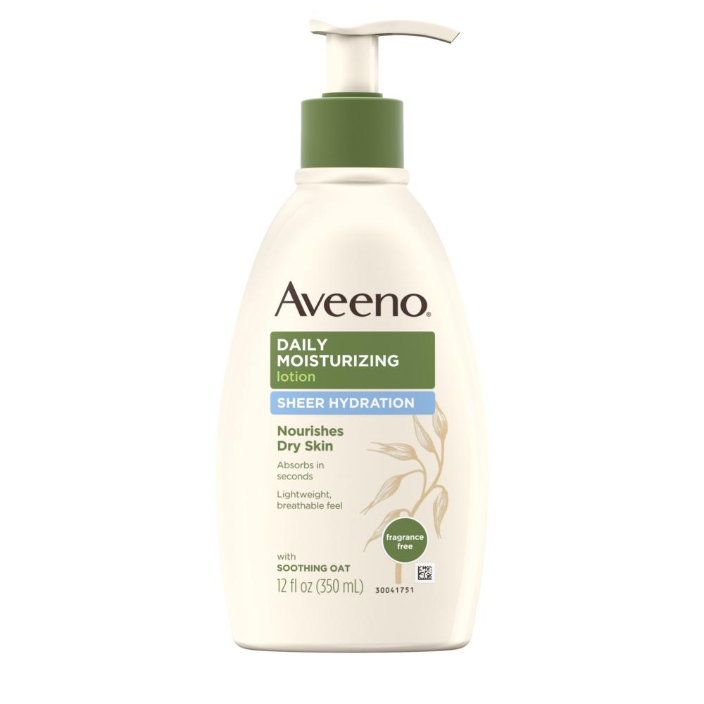 Sữa dưỡng thể Aveeno trị mụn ở tay