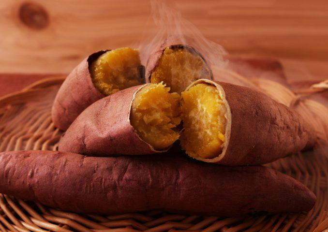 thực phẩm giảm cân với khoai lang