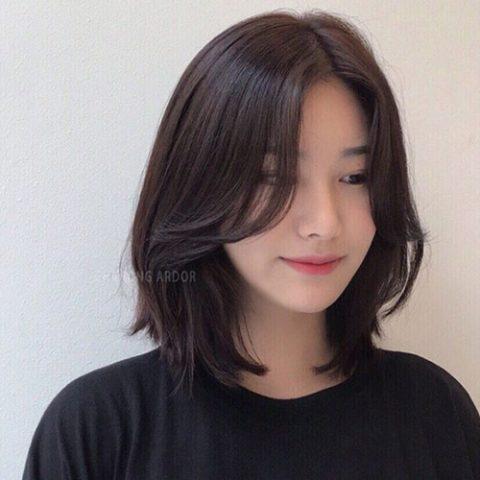 Tóc màu hạt dẻ nhạt tự nhiên dành cho nàng