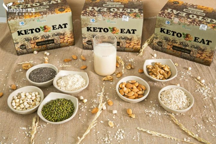 Bột ngũ cốc giảm cân Keto
