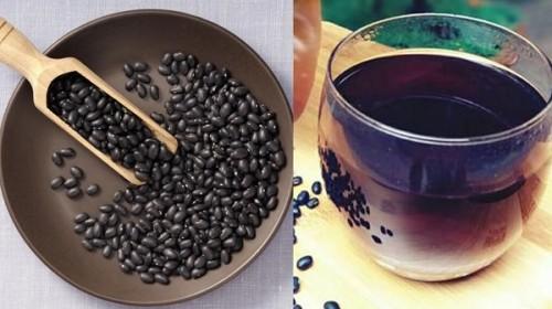 giảm cân bằng đậu đen bằng cách uống đen rang