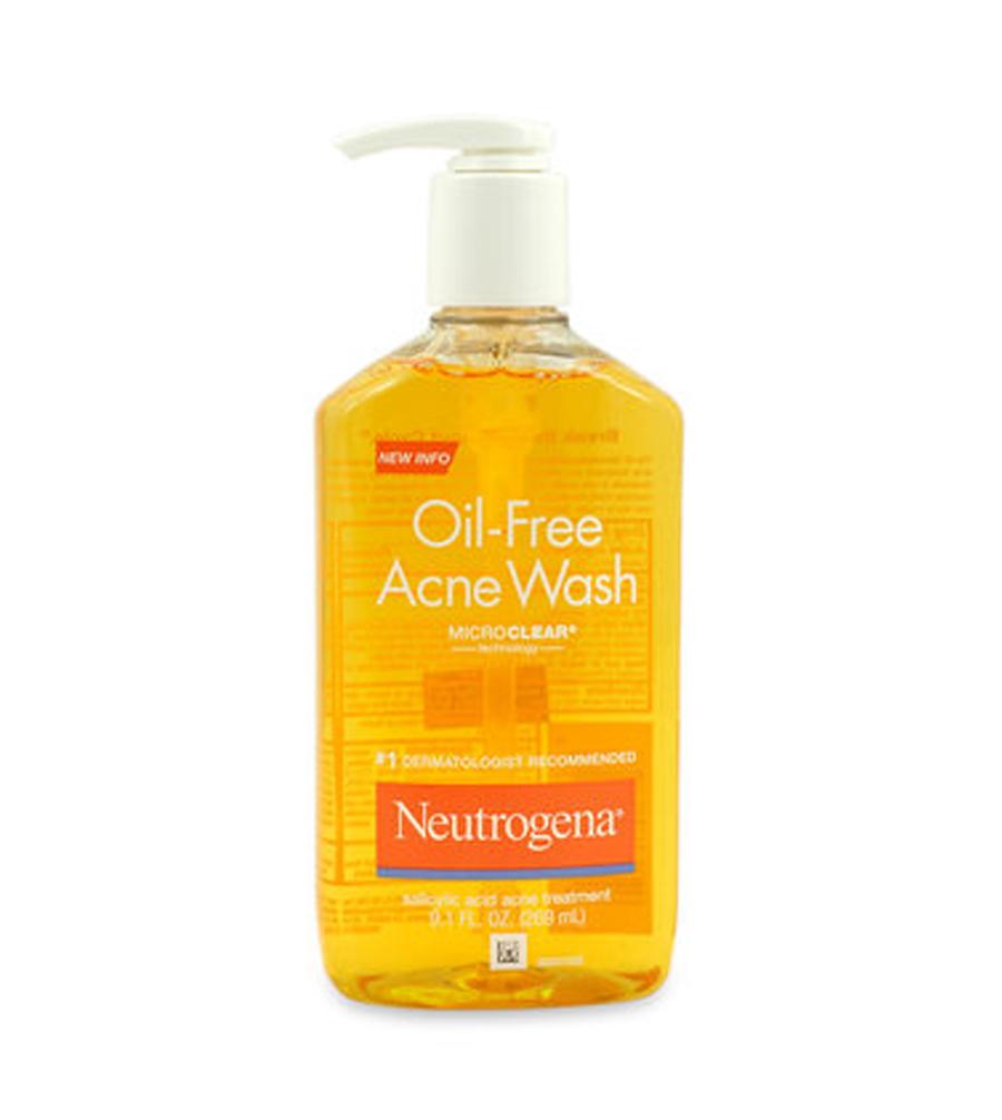Sữa rửa mặt NEUTROGENA OIL FREE cho da dầu mụn