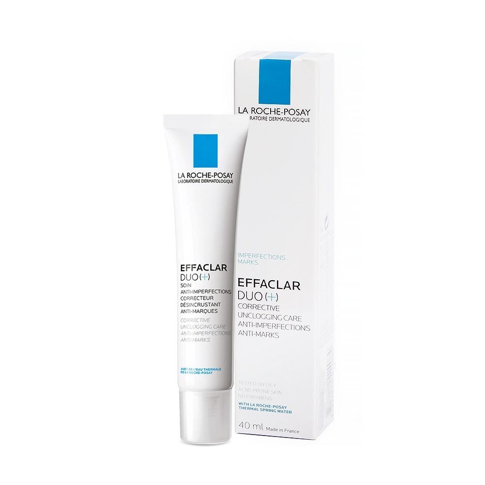 Kem dưỡng giảm mụn thông thoáng lỗ chân lông và ngừa thâm La Roche Posay Effaclar Duo+ 40ml