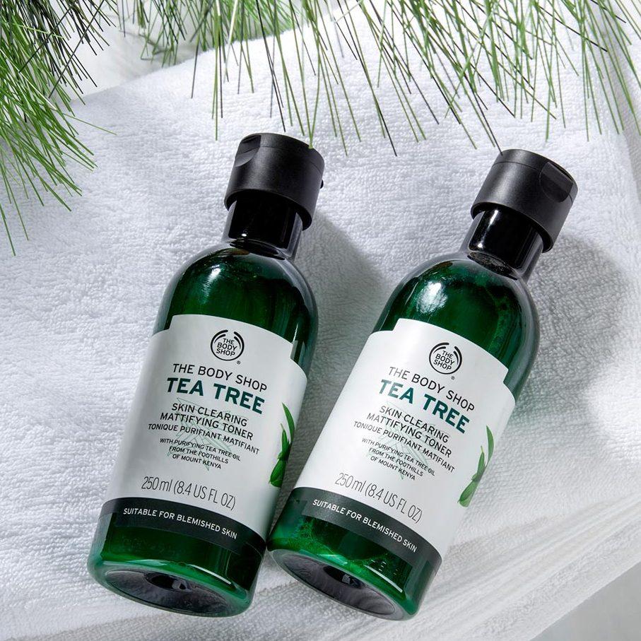 Nước cân bằng da The Body Shop Tea Tree Skin Clearing Toner