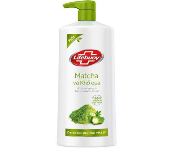 Sữa tắm tốt nhất hiện nay - Sữa Tắm Detox Lifebuoy Matcha & Khổ Qua