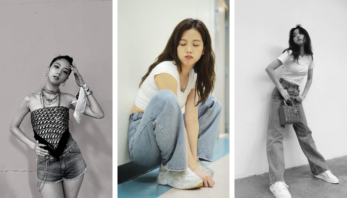 """Học ngay Jisoo tuyệt chiêu phối đồ với quần jeans """"mê từ cái nhìn đầu tiên"""""""