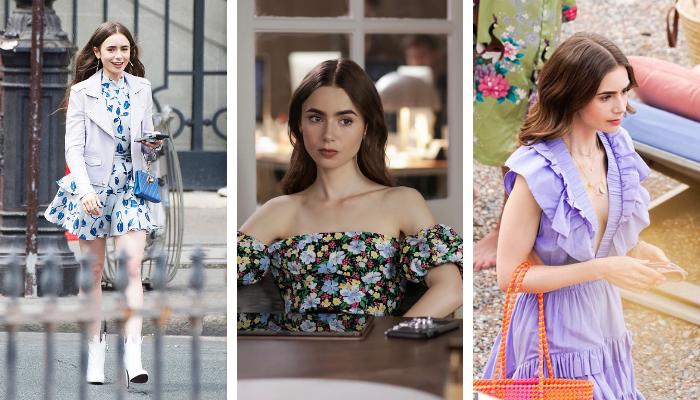 """Lily Collins – """"Bông hồng"""" nước Anh trong vai diễn Emily in Paris Netflix"""