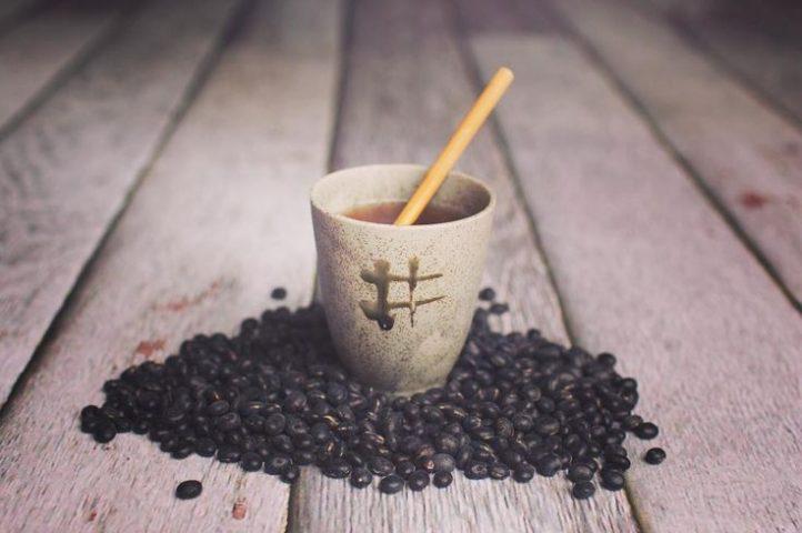 giảm cân bằng đậu đen trà đậu đen