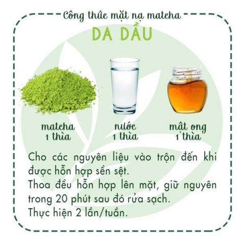 Cách trị mụn ẩn và mụn cám bằng bột trà xanh hiệu quả
