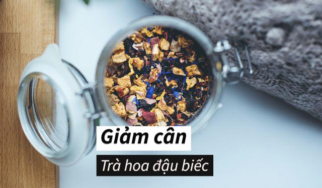 Uống trà hoa đậu biếc giảm cân có tốt không? Lợi, Hại và Cách dùng