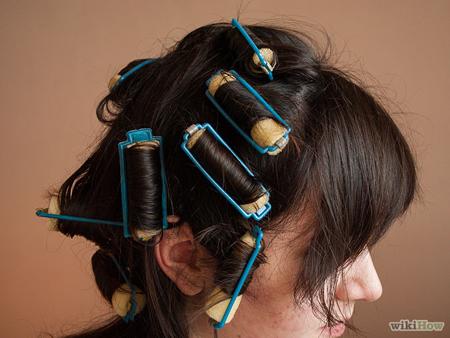 Làm tóc xoăn sóng ngắn bằng lô cuốn cực đơn giản