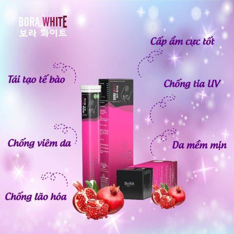 Viên uống trắng da Hàn Quốc Bora White