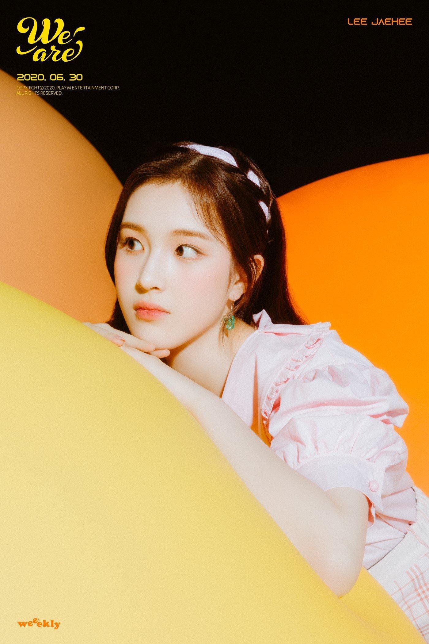 idol nữ Jaehee (Weeekly)