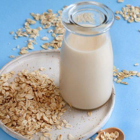 Cách nấu yến mạch giảm cân với sữa