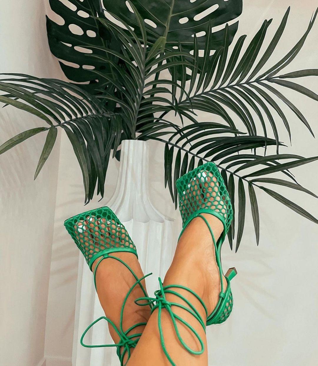 giày xanh lá