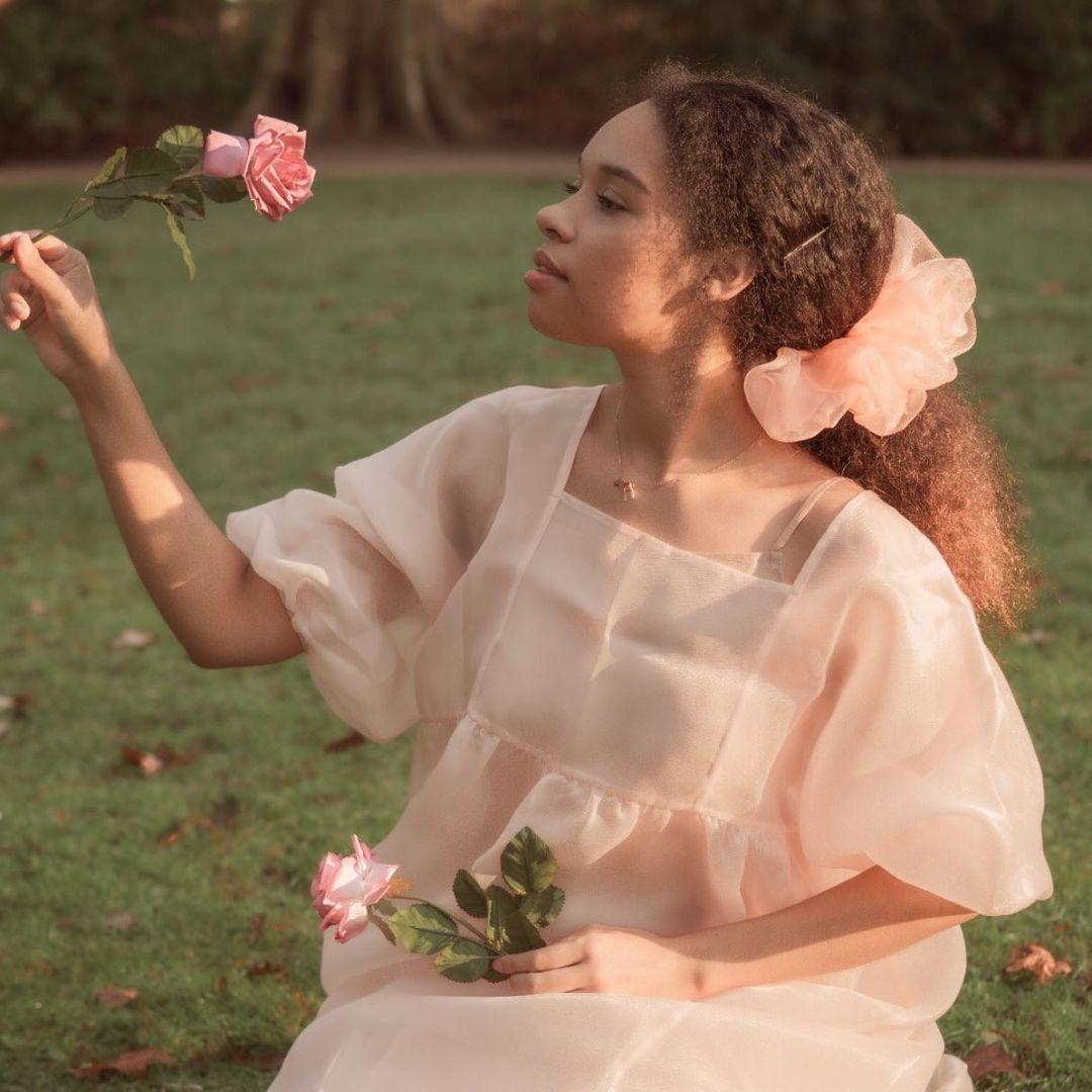 Fairycore váy voan bồng bềnh