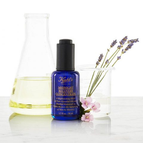serum dưỡng trắng da Kiehl's Midnight Recovery Concentrate