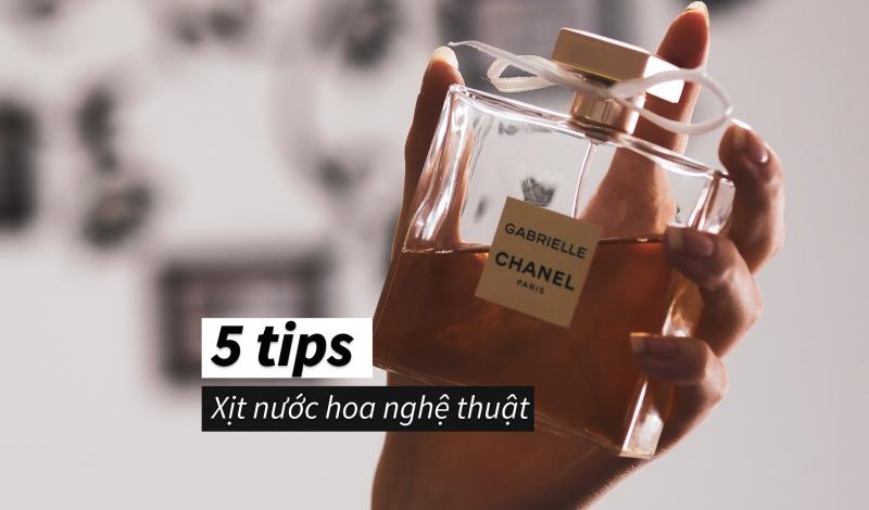Bỏ túi 5 cách xịt nước hoa đúng cách từ những cô nàng Pháp