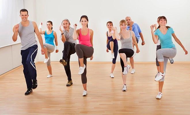 Bài tập aerobic - thể dục giảm cân giảm mỡ